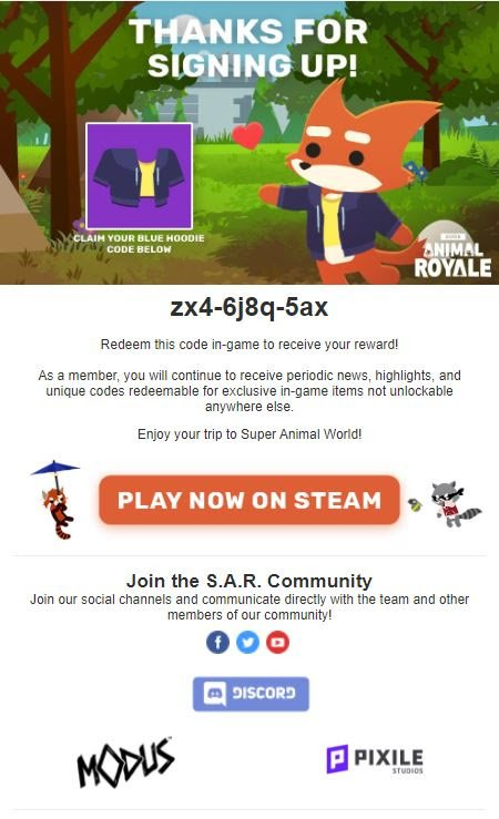 Super Animal Royale How To Get Blue Hoodie guide