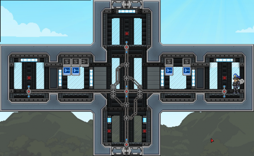 Starbound Elevators Travel System With Wiring guide